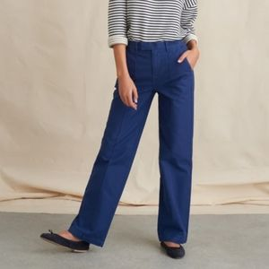 Alex Mill high rise Cotton twill trousers
